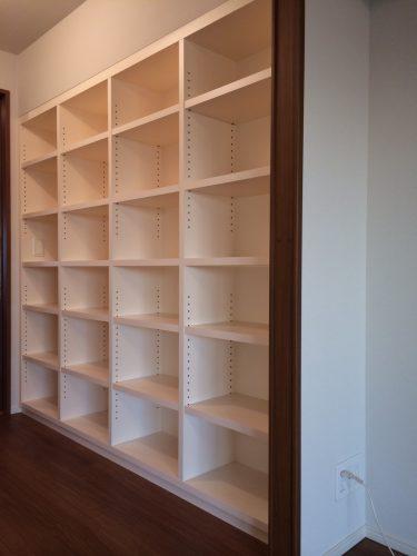 大容量の本棚&クローゼット|群馬県・高崎市