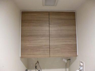 洗濯機上吊戸棚の扉の色はどうする?面材選びに迷ったら参考にしたい事例6選!