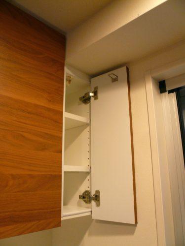 梁があればオーダー家具。無駄な隙間を生まず収納力も最大限に増やせます。
