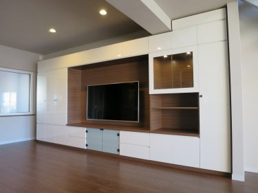 リノベーション物件にオーダー家具3アイテムを納品! その2
